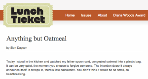 Anything but Oatmeal
